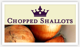 Chopped Shallots in Oil